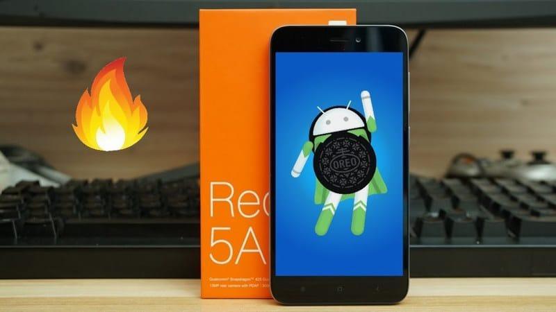 Xiaomi Redmi 5A Android 8.1